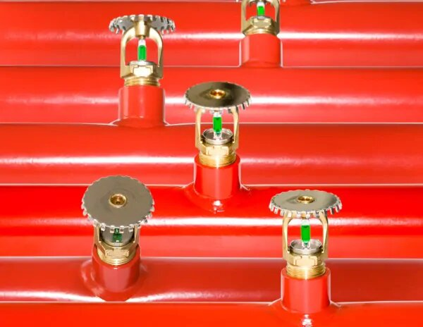 What are automatic sprinkler systems?
